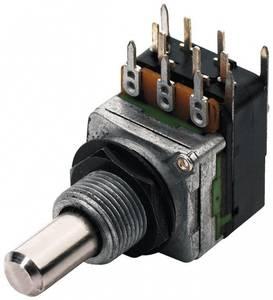Bilde av MEC potmeter vol/tone 22K med switch