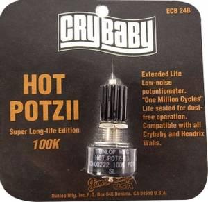 Bilde av Dunlop Hot Potz II Crybaby 100K