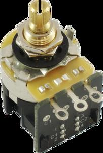 Bilde av Potmeter CTS m DPDT switch 500K