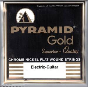 Bilde av Pyramid Gold Flatwound - 012